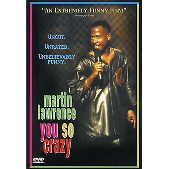 Martin Lawrence - du så galen [DVD] USA import