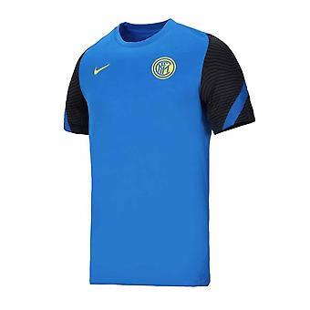 2020-2021 Inter Milan Nike Träningströja (Blå)