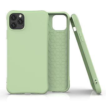 For iPhone 11 Pro Case Solid Slim Case Protective Cover Light Green