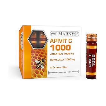 Apivit C 20 ampolas de 1000mg