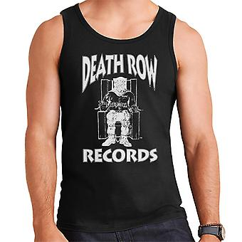 Death Row Records stoel Logo witte mannen Vest
