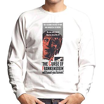 Hammer Horror Films Frankenstein Will Haunt You Forever Men's Sweatshirt