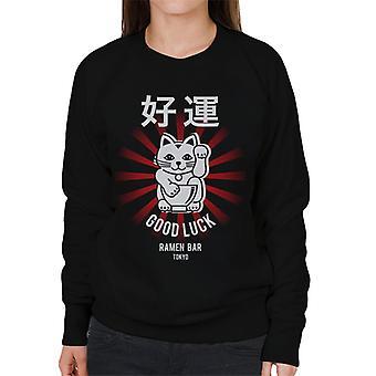 The Ramen Clothing Company Good Luck Noodle Bar Tokyo Women's Sweatshirt