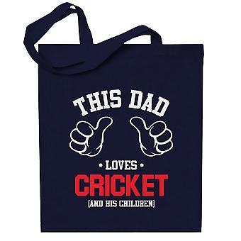 Tämä isä rakastaa kriketti ja hänen lapsensa totebag