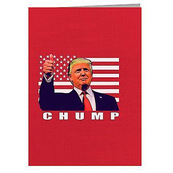 Chump Donald Trump USA Republican Greeting Card