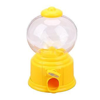 søt godteri dispenser mynt bank leketøy maskin gumball lagring krukke