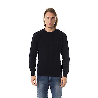 Uominitaliani Blu Sweater -- UO81761136