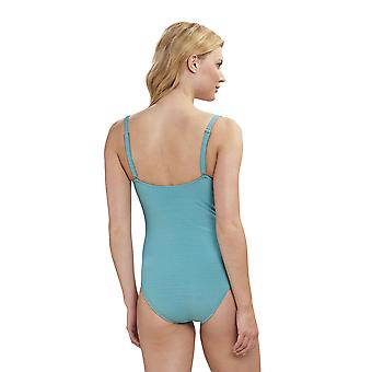 Féraud 3195006-11725 Naiset's Beach Emerald Turkoosi Puku Yksiosainen uimapuku