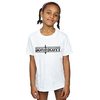 Bon Scott Mädchen Bemguit Grime T-Shirt