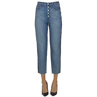 J Brand Ezgl181007 Women's Blue Cotton Jeans