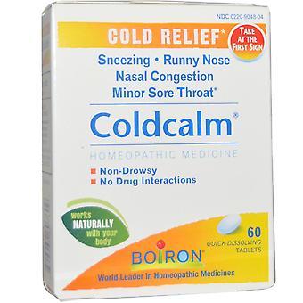Boiron, Coldcalm, 60 Snabblösa tabletter