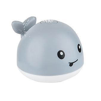 Baby brusebad legetøj og spil induktion vand spray legetøj og plads UFO legetøj uden batterier musik og lys