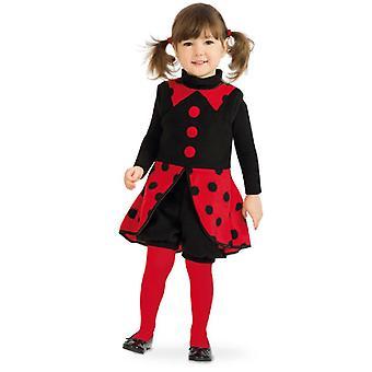 Leppäkerttu Lasten puku kuoriainen Brummer Tyttö