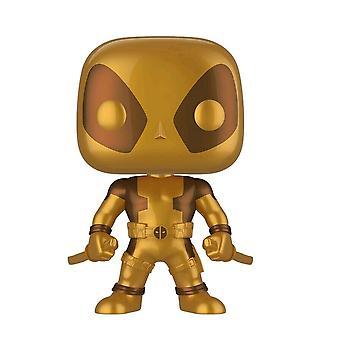 """Deadpool Two Swords Gold US Exclusive 10"""" Pop! Vinyl"""