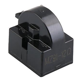 Frigider Compresor PTC Releu Starter 12 Ohm 1 Pin Negru