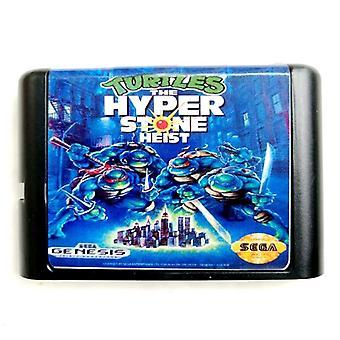 Ninja Den Hyper-sten Heist-16-bit hukommelseskort Egadrive
