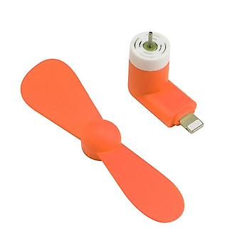 Usb Portable, Mini Electric Fan Voor IPhone/smartphones