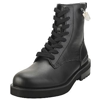Calvin Klein Nolly Womens Biker Boots in Black