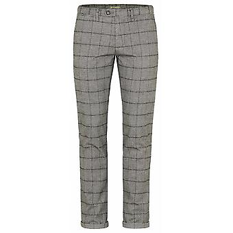 REDPOINT Redpoint Stretch Cotton Check Trouser
