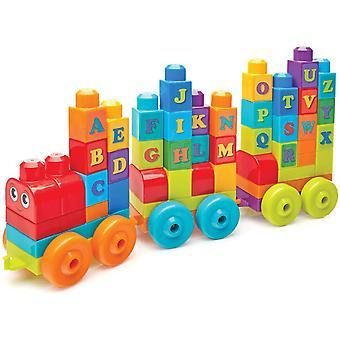 Mega Bloks Building Basics ABC Learning Train
