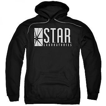 Flash Star Labs Czarna bluza z kapturem