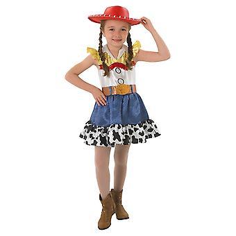 جيسي راعية البقر ديلوكس ديزني لعبة قصة 4 فيلم كتاب أسبوع الفتيات الطفل زي 4-6