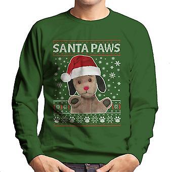 Sotig jul sopa Santa Tassar Män's Sweatshirt