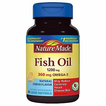 Nature Made Fish Oil , 1200 mg, 100 Liquid Softgels