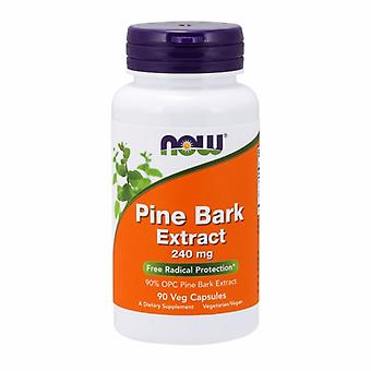 Now Foods Pine Bark Extract, 240 mg, 90 vcaps