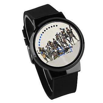 Водонепроницаемые светящиеся светодиодные цифровые сенсорные детские часы - Apex Legends #8