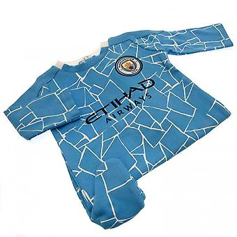Manchester City FC Baby Sleepsuit
