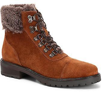 Jones Bootmaker Femmes Cuir Lace-Up Randonneur Boot