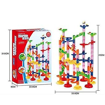 Blocs de pipe de construction pour, ball circuit marble race run maze toy