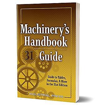 Machinery's Handbook Guide: Opas taulukoihin, kaavoihin ja paljon muuta 31.