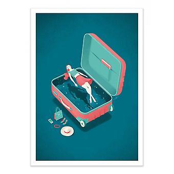 Plakat artystyczny - Życzenia - Andrea de Santis
