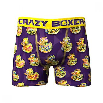 Rubber Duck All Over Print Men's Underwear Boxer Briefs