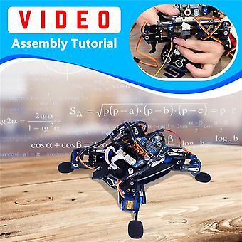 Rollflash Bionic Robot Tortuga con Kit de Juguete de Control de Aplicaciones para evitar obstáculos