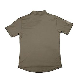 One Way Dry Tactical Base Rugby T-shirt With Two Envelope Pockets On The