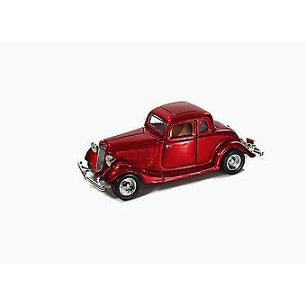 Ford Coupe (1934) in Metallic Red (1:24 scale by Motor Max 73217R)