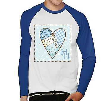 Holly Hobbie Love Heart Tikat Miehet's Baseball Pitkähihainen T-paita