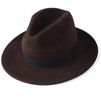 Ženy Muži Fedora Hat, 100% austrálskej vlny felt Fedora jeseň zimné čiapky