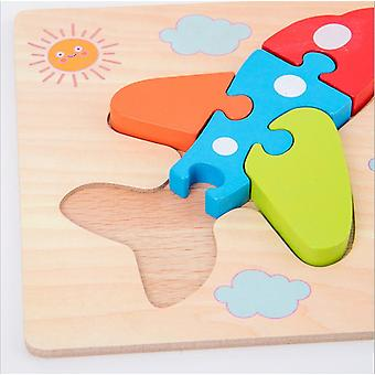 1-2-3-year-old Babies And Toddlers Benefit Intelligence Development Wooden Toys For Little Boys And Girls