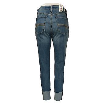 DENIZEN from Levi's Women's Jr Jeans High Rise Jegging Crop Blue