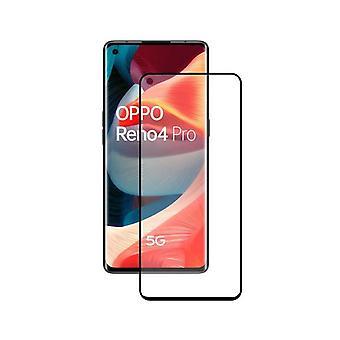 Gehard glas mobiele screenprotector Oppo Reno 4 Pro 5G KSIX full glue 2.5D