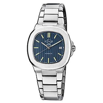 GV2 Automatic Men's Potente Blue Dial Inoxidless Steel Bracelet Watch