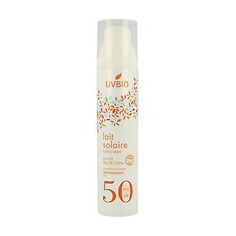 Sunscreen SPF50 waterproof 100 ml of cream