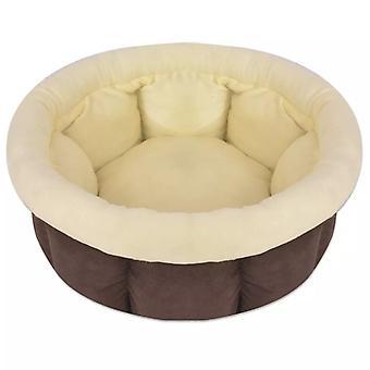 الكلب السرير حجم L براون