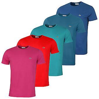 Lacoste Herren Kurzarm Rundhals TH6709 Pima Baumwolle T-Shirt