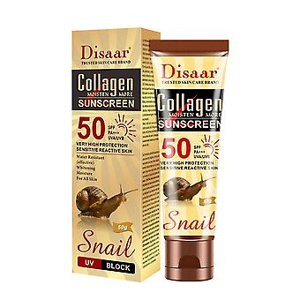 Collagen Snail Sunscreen Face Body Whitening Skin Care Sun Cream Oil-control