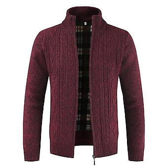 Mountainskin Autumn Cardigan Men Sweaters, Thick Warm Knitted Jackets, Coats
